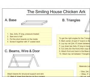 Smiling House Chicken Ark Design
